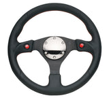 NRG Reinforced Steering Wheel- 320mm Sport Steering Wheel w/ Dual T