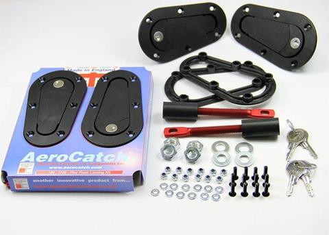Aerocatch Hood Pins Locking Kit - Universal
