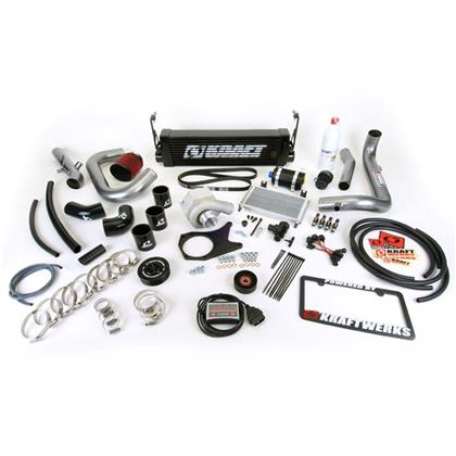 KraftWerks 06-11 Honda Civic Supercharger Kit w/ FlashPro (R18)