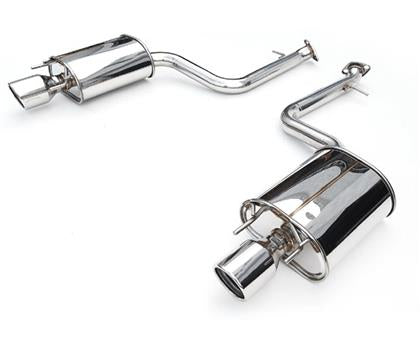 Invidia 2015 - 2016 Subaru WRX/STI 4Dr Q300 Twin Outlet Rolled Stainless Steel Quad Tip Cat-Back Exhaust