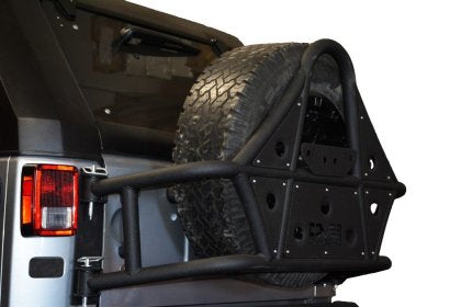 DV8 Offroad 07-18 Jeep Wrangler Body Mounted Tire Carrier