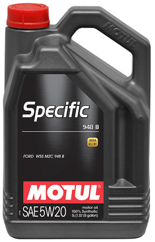 Motul 5L Specific 948B 5W20 Oil