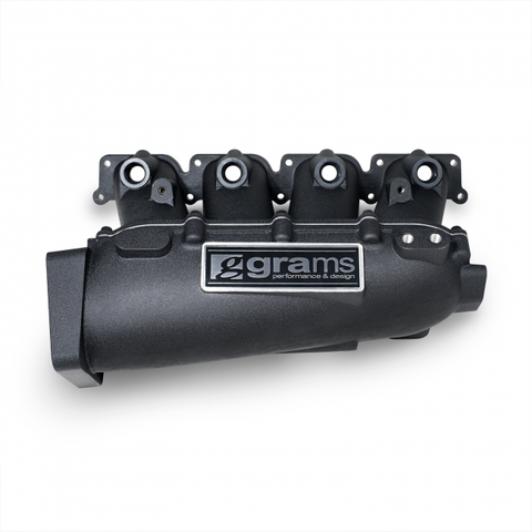 Grams Performance VW MK4 Small Port Intake Manifold - Black