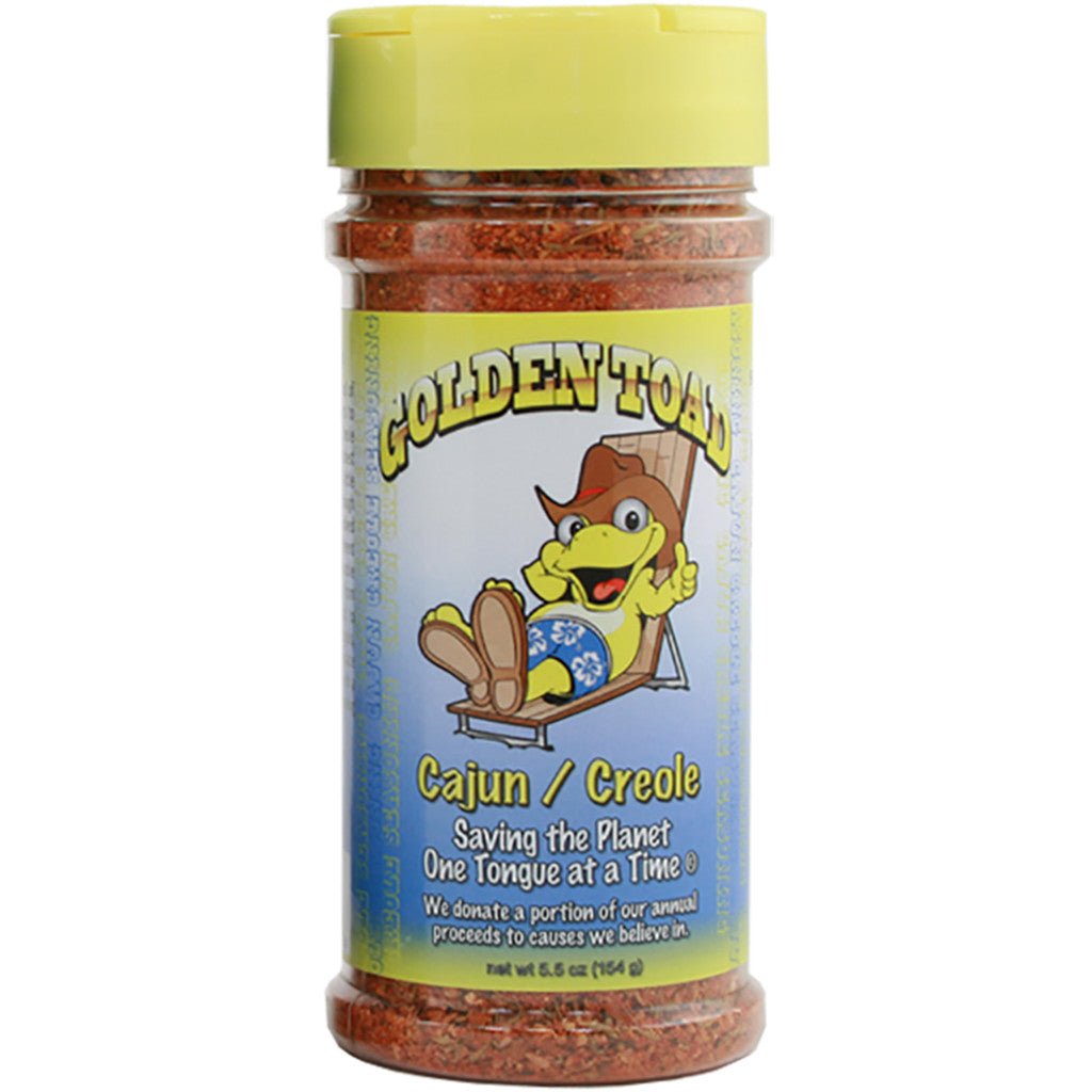 Golden Toad Cajun Creole Seasoning