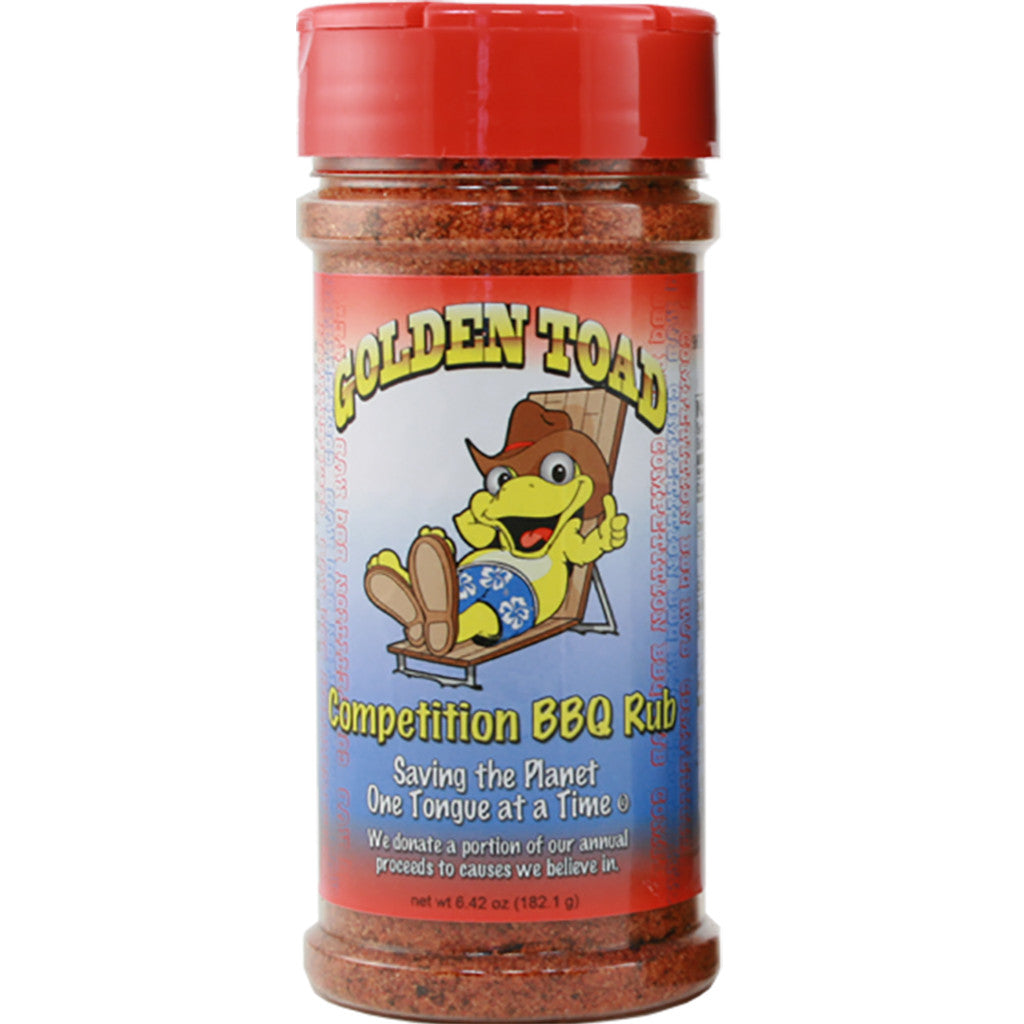 Golden Toad Competition BBQ Rub