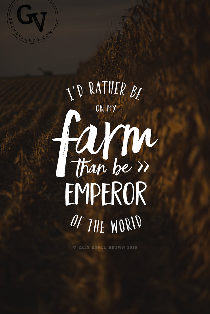 Rather Be Farming - Harvest Corn