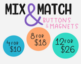 4, 8 or 12 Mix & Match Flair