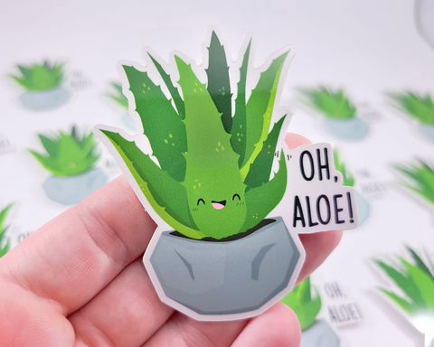 Aloe Sticker