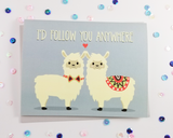 Alpaca Love Card