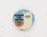Alpaca Button or Magnet