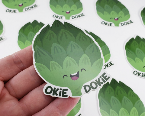Artichoke Sticker