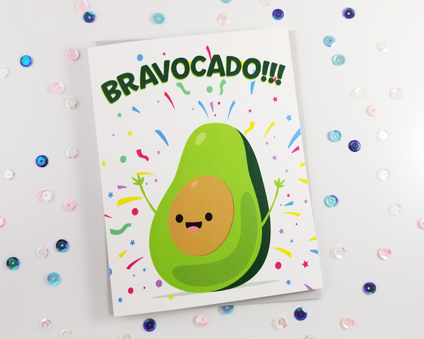 Bravocado Congratulations Card