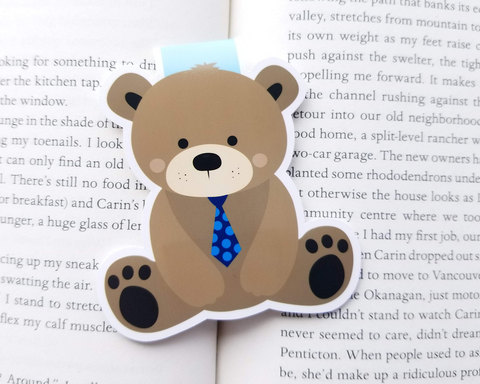 Bear Magnetic Bookmark