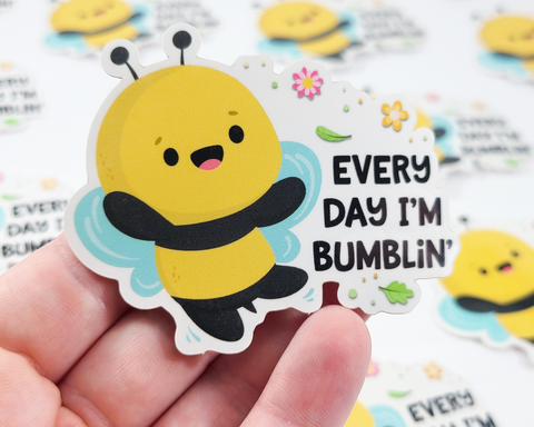 Bee Bumblin Sticker