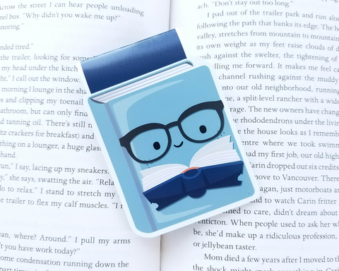 Book Reading Magnetic Bookmark