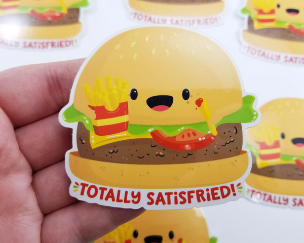 Burger & Fries Sticker