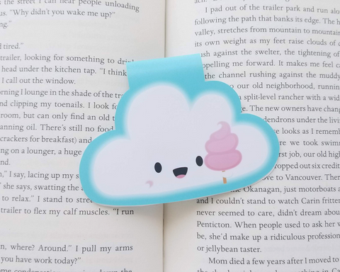 Cloud Magnetic Bookmark