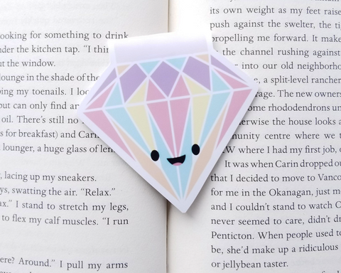 Diamond Magnetic Bookmark
