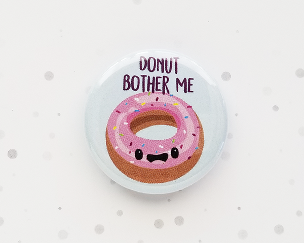 Donut Button or Magnet