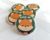 Fox Button or Magnet