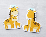 Giraffe with Colt Magnetic Bookmark