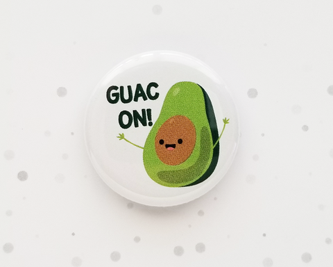 Avocado Button or Magnet