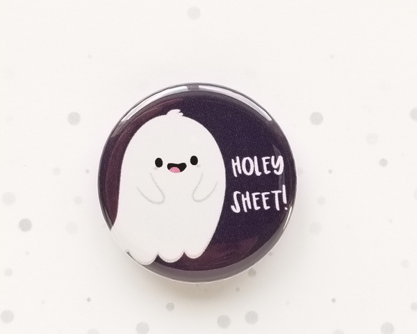 Ghostie Button or Magnet