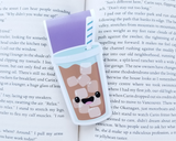 Iced Coffee Magnetic Bookmark