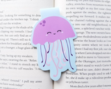 Jellyfish Magnetic Bookmark