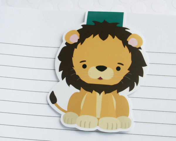 Lion Magnetic Bookmark