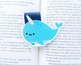 Narwhal Magnetic Bookmark