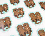 Otter Sticker