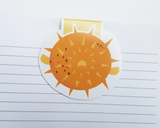 Pufferfish Magnetic Bookmark