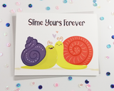 Snails Love Card
