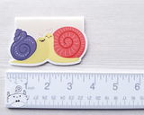 Snails Magnetic Bookmark