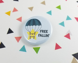 Free Fallin' Star Button or Magnet