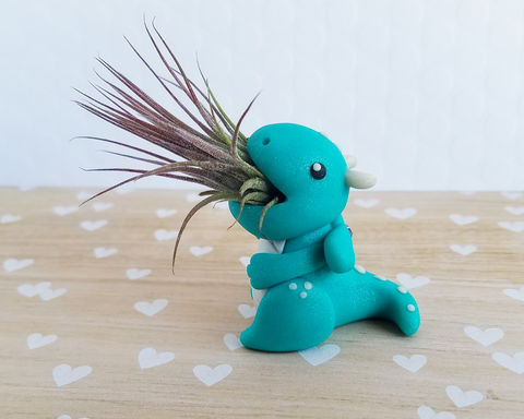 Dragon (Teal) Air Plant Holder