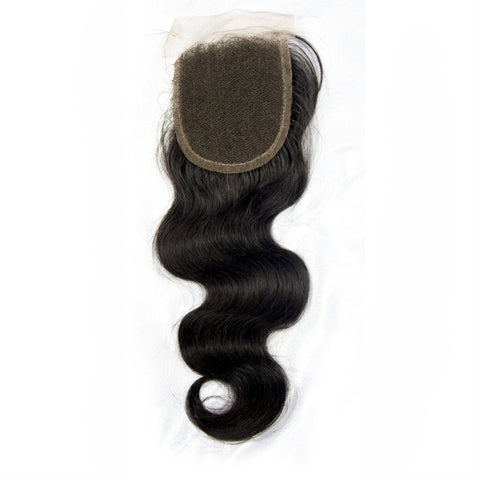 Brazilian Body Wave Lace Closure (Free Part)