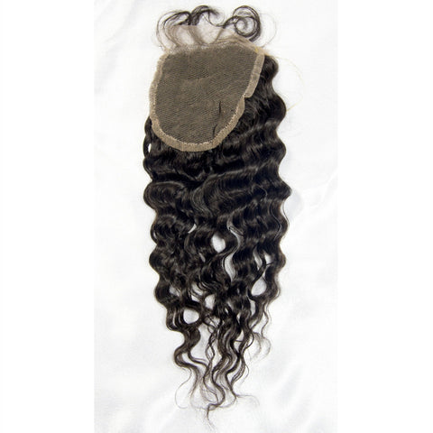 Brazilian Deep Wave Lace Closure (free part)