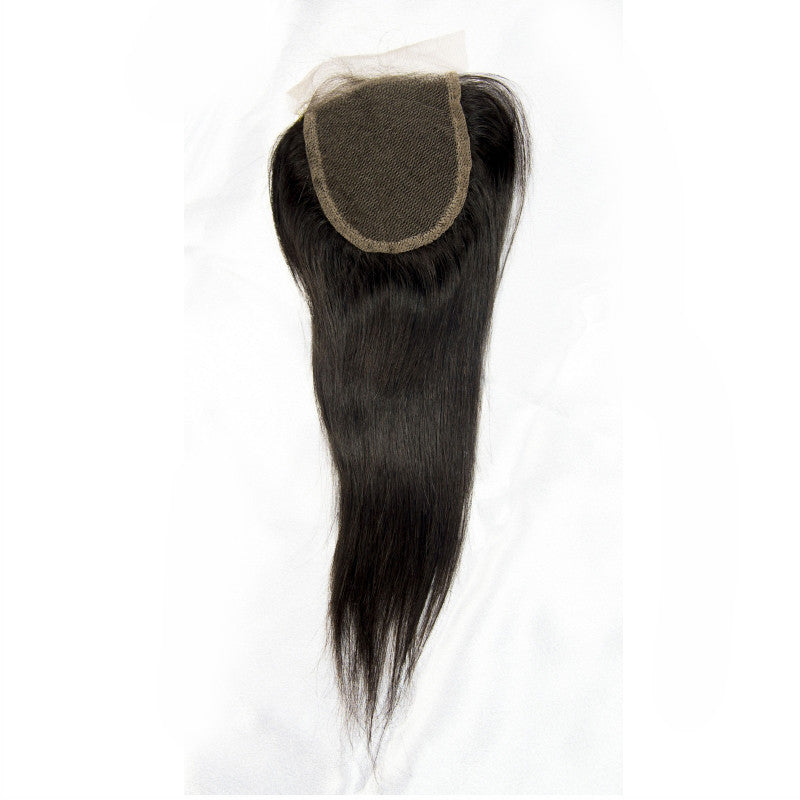 Brazilian Straight Lace Closure (free part)