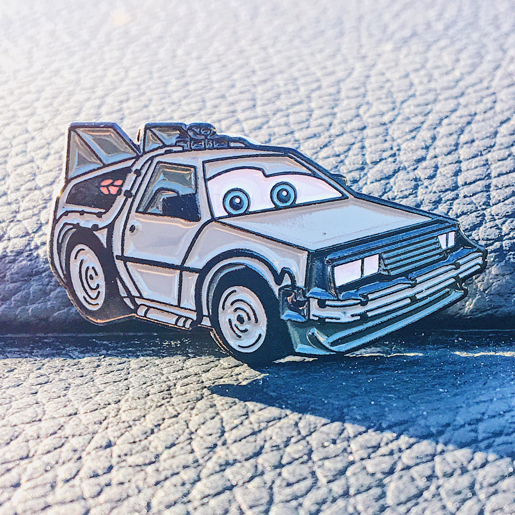 'MARTY DELOREAN' Enamel Pin
