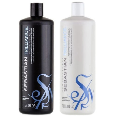 Sebastian Professional Trilliance Shampoo & Conditioner 33.8 oz DUO SET