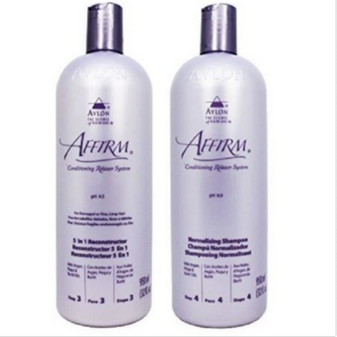 Avlon Affirm 5 In 1 Reconstructor 32oz + Normalizing Shampoo 32oz