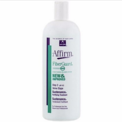 AVLON AFFIRM FiberGuard Sustenance Fortifying Treatment 32oz