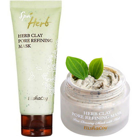 ELISHACOY  Herb Clay Pore Refining Mask, Select