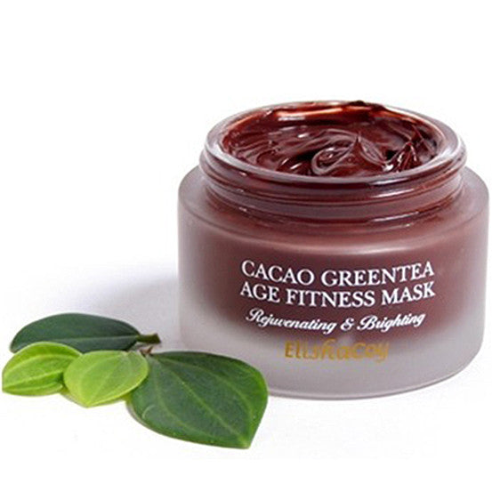 ELISHACOY  Cacao Green Tea Age Fitness Mask, Select