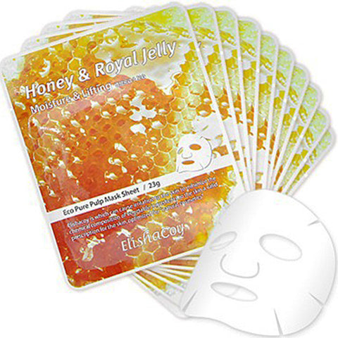 ELISHACOY Honey & Royal Jelly Mask Sheet 23g x 10pcs