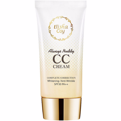 ELISHACOY Always Nuddy CC Cream [SPF 30/ PA++] 50g
