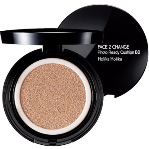 HOLIKA HOLIKA Face 2 Change Photo Ready cushion BB [SPF 50+/ PA+++] 20g, Select