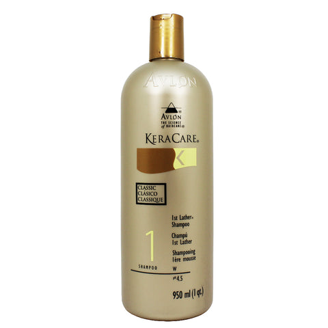 AVLON KERACARE 1st Lather Shampoo 32 oz